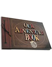 Album Our Adventure Book Version Letras 3D - 20 Hojas