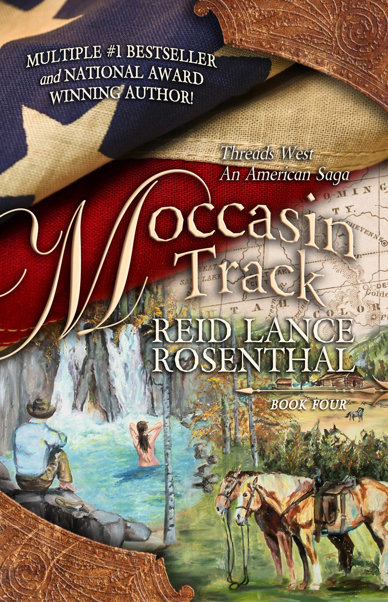 Moccasin Tracks: Reid Lance Rosenthal: 9780982157640: Books