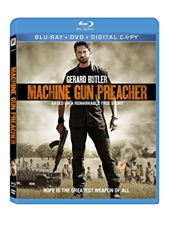 Amazon Com Machine Gun Preacher Blu Ray Gerard Butler Michelle
