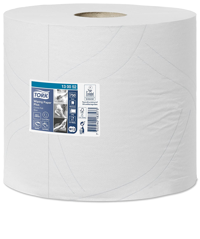 Tork 130041 Starke Mehrzweck Papiertücher Für W1 W2 Systeme 2 Lagiges Saugfähiges Papier In Weiß 2 X 255m Gewerbe Industrie Wissenschaft