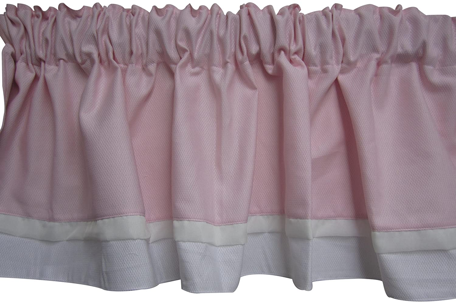 Pink Baby Doll Bedding Classic Bows Valance