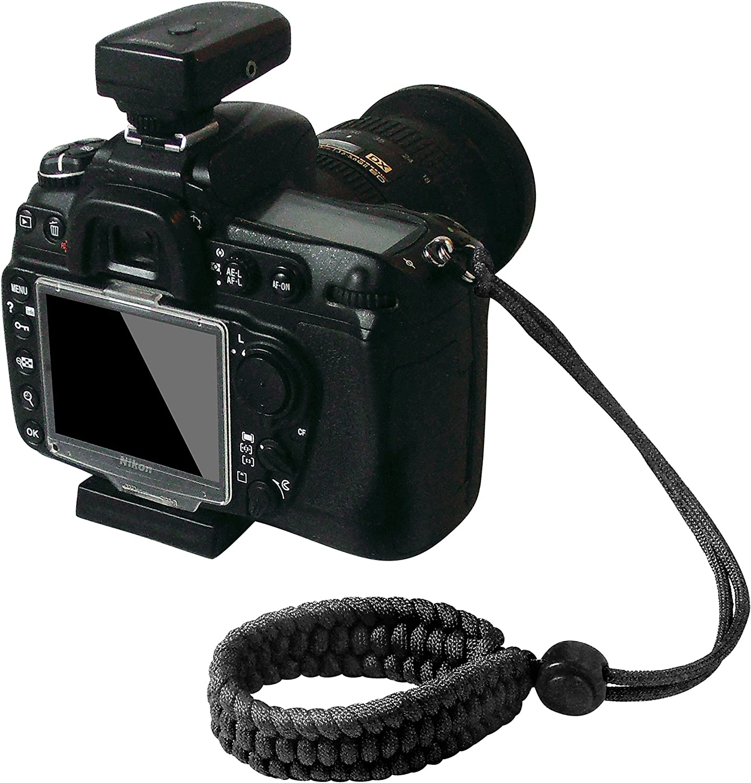 Baoblaze Heavy Duty Braided Paracord Adjustable Camera Wrist Strap Bracelet for Camera Binocular