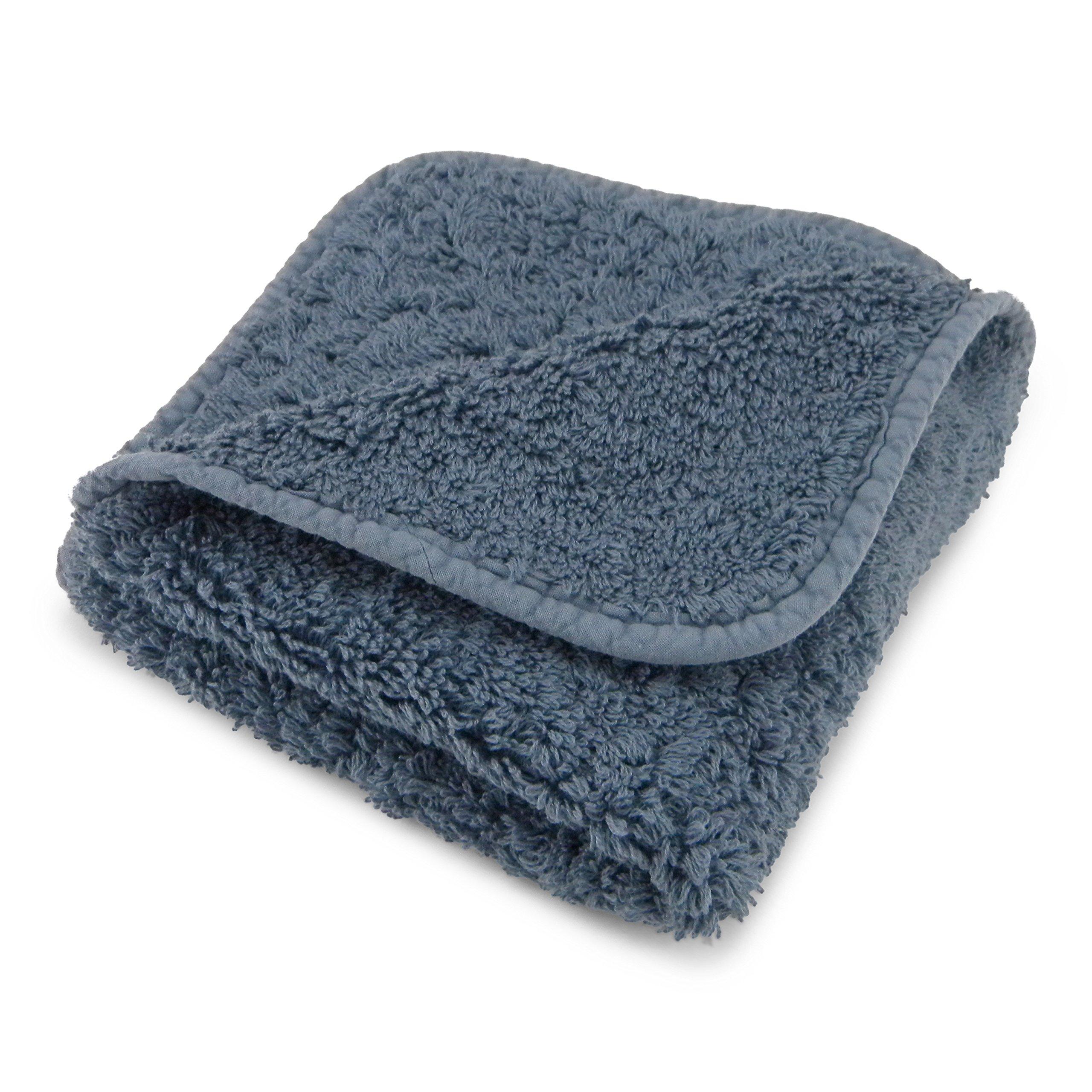 Abyss Super Pile Bath Sheet (40''x 72'') - Bluestone (306)