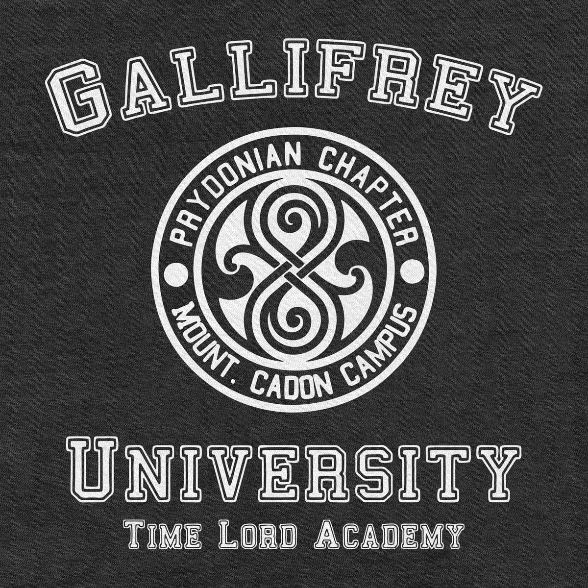Shirtgeil Gallifrey University Damen Tank Top Doctor Time Academy Who