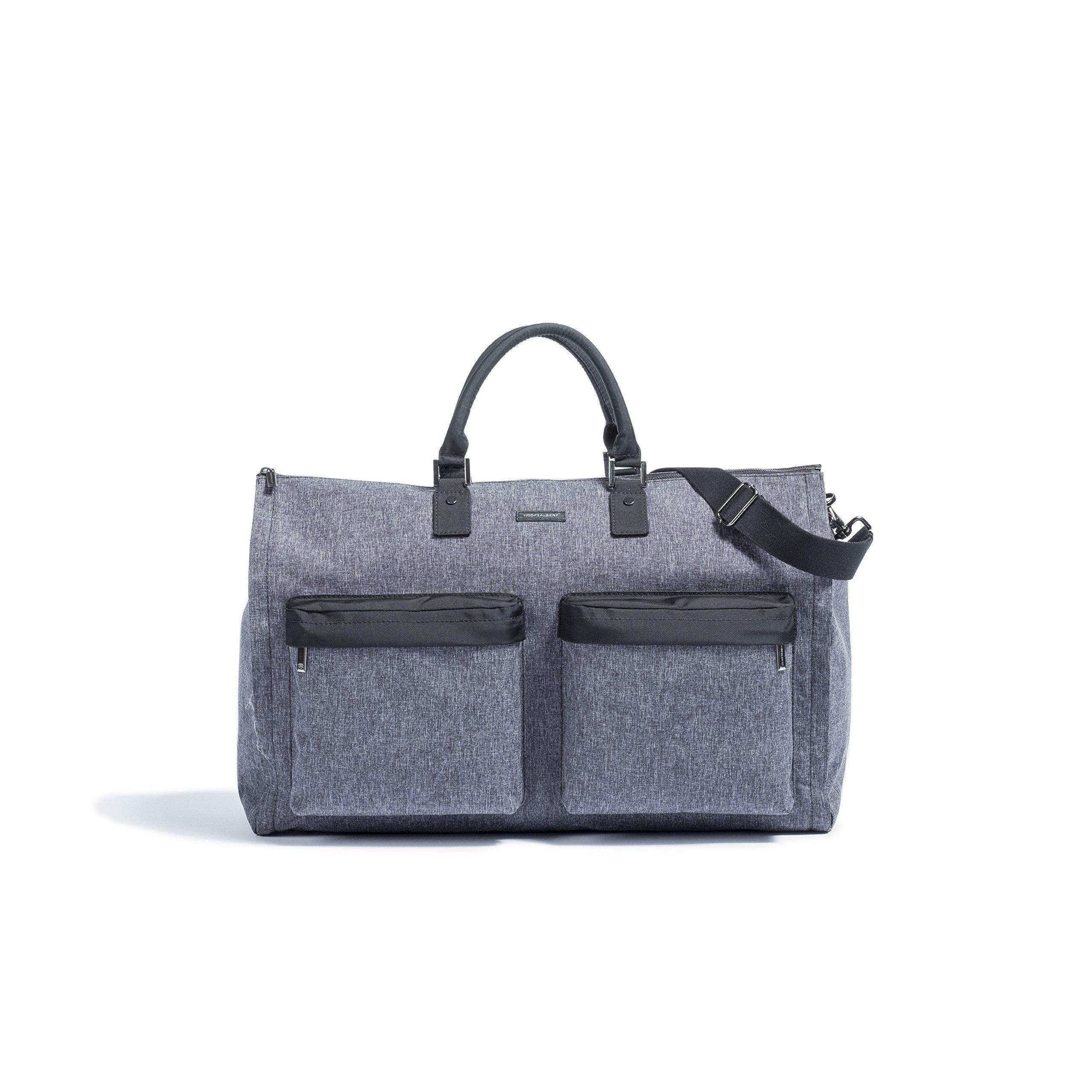 Hook & Albert Garment Weekender Bag (Melange Fabric)