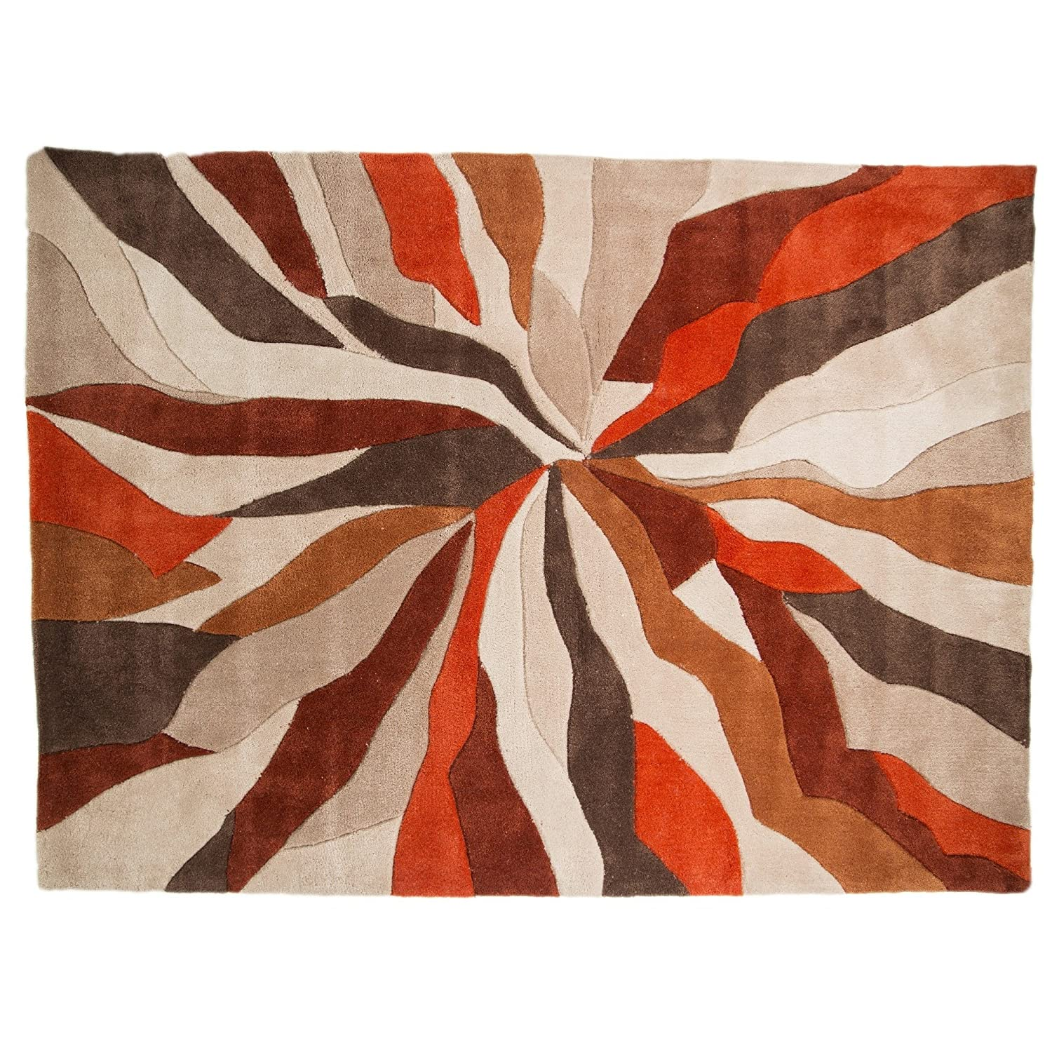 orange diamond akitahomefashion rugs rug outdoor
