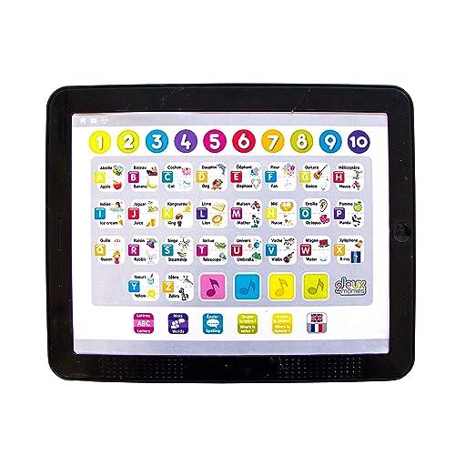 Jeux 2 Mômes - Ea5201 - Tablette Educative - Grand Modèle - Bilingue