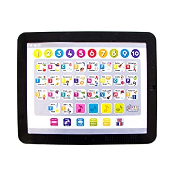 Jeux 2 Mômes Ea5201 Tablette Educative Grand Modèle Bilingue