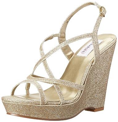6a0ec9e716 Amazon.com   Dyeables, Inc Women's Dee Wedge Sandal   Platforms & Wedges