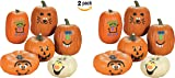 Foam Pumpkin Decorations makes 24 (2)  sc 1 st  Amazon.com & Amazon.com: Cute Characters Halloween Trick or Treat Pumpkin Carving ...