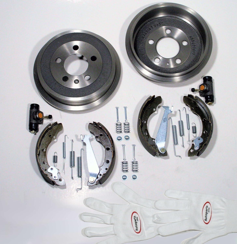 Autoparts-Online Set 60001368 Bremstrommeln//Bremsen Set Hinten