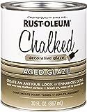 Rust-Oleum 315881 Chalked Decorative Glaze, Semi-Transparent Aged