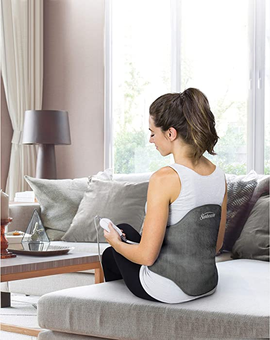 Top 9 Sunbeam Contoured Back Heating Pad