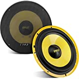 """2Way Custom Component Speaker System 6.5"""" 400 Watt Component with Electroplated Plastic Basket, Butyl Rubber Surround & 40 Oz"""
