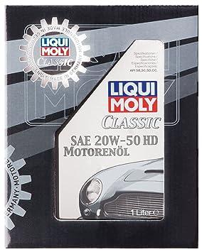 Liqui Moly 1128 SAE 20 W-50 HD - Aceite de motor para vehículos ...