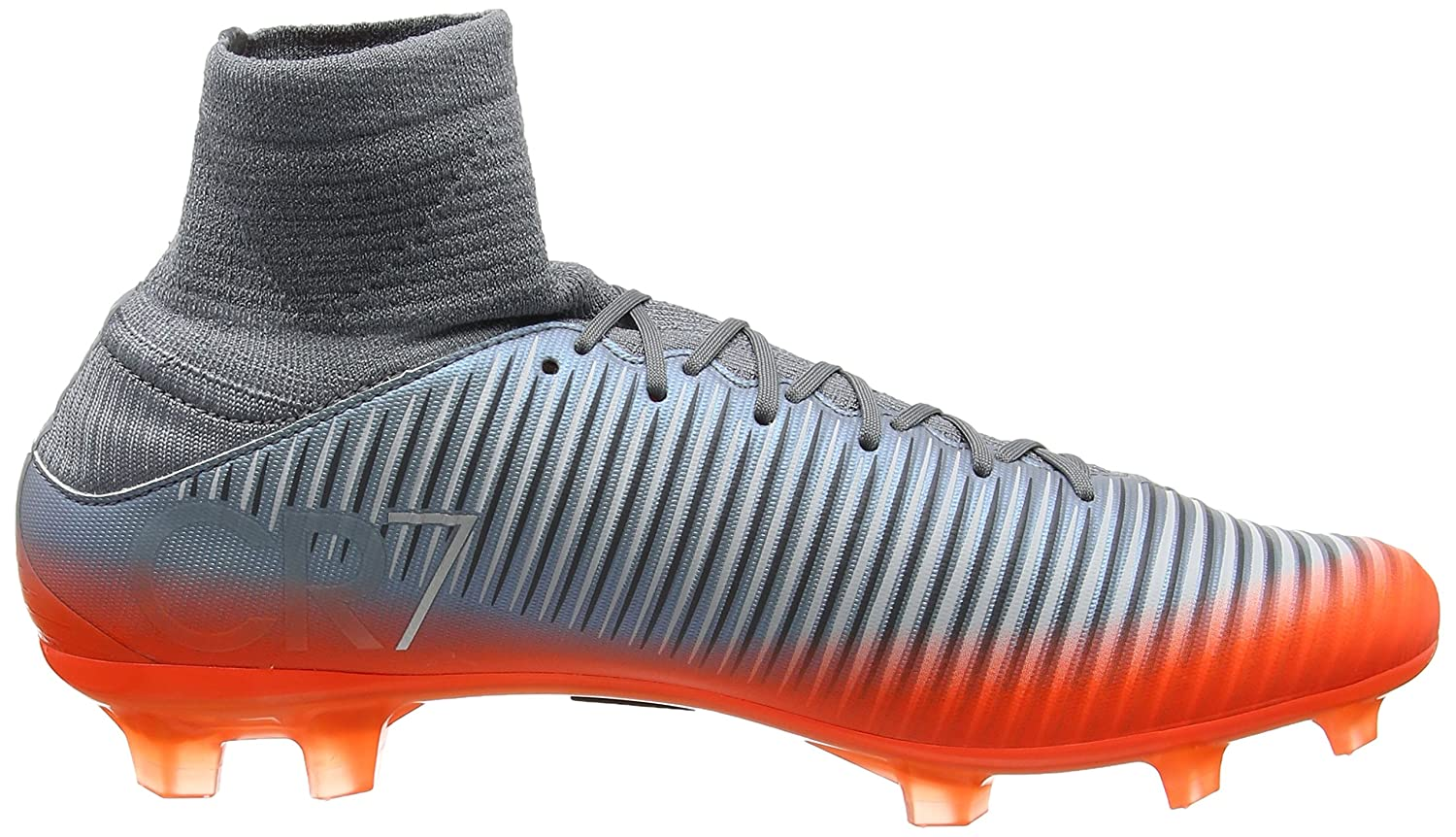 5ca19189d8e Nike Men s Mercurial Veloce III Dynamic Fit CR7 FG Soccer Cleat (Sz. 10)  Cool Grey