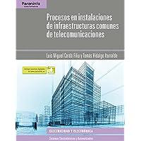Procesos en instalaciones de infraestructuras comunes de telecomunicaciones