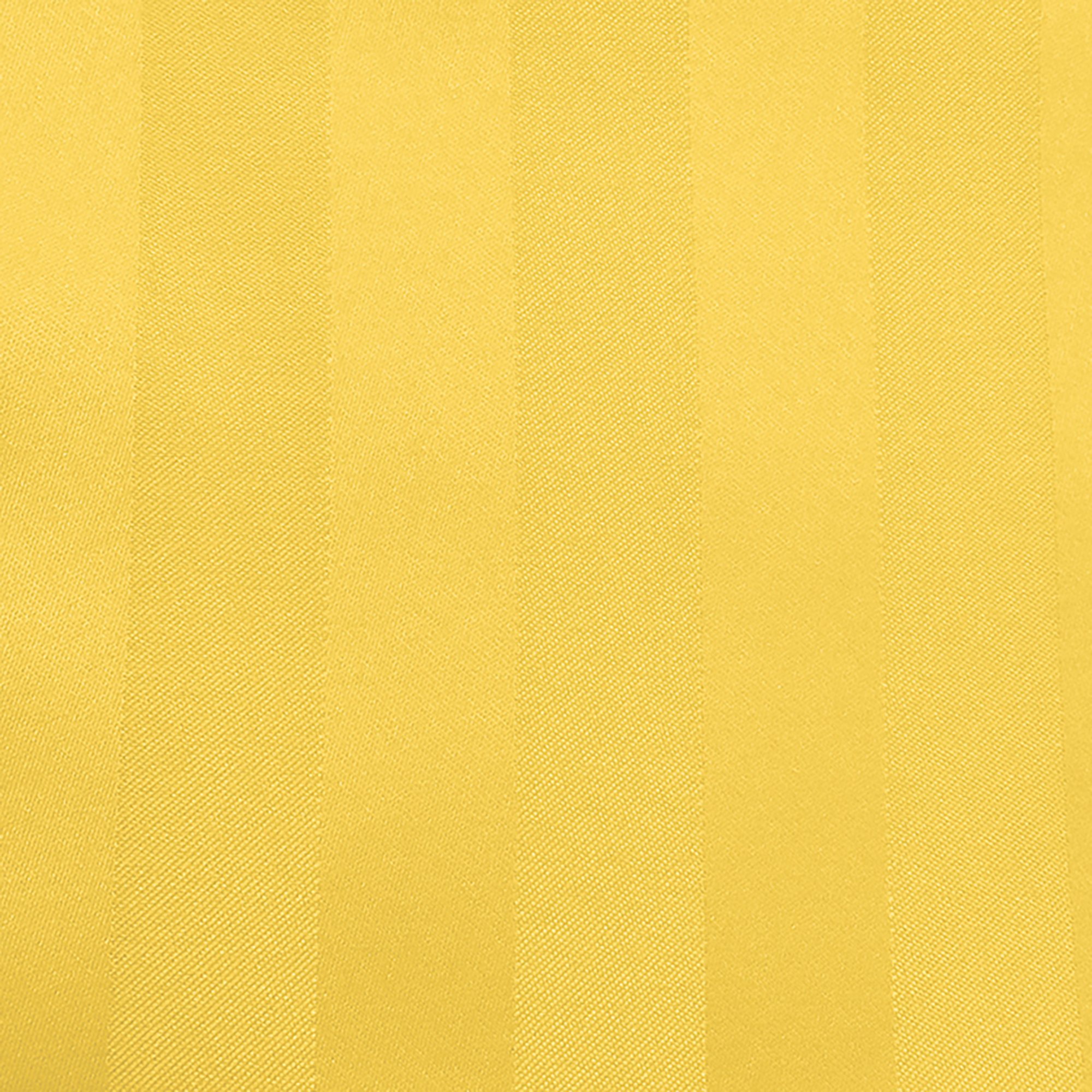 Ultimate Textile -2 Dozen- Satin-Stripe 10 x 10-Inch Cloth Cocktail Napkins - for Wedding and Catering, Hotel or Home Dining use, Goldenrod Yellow