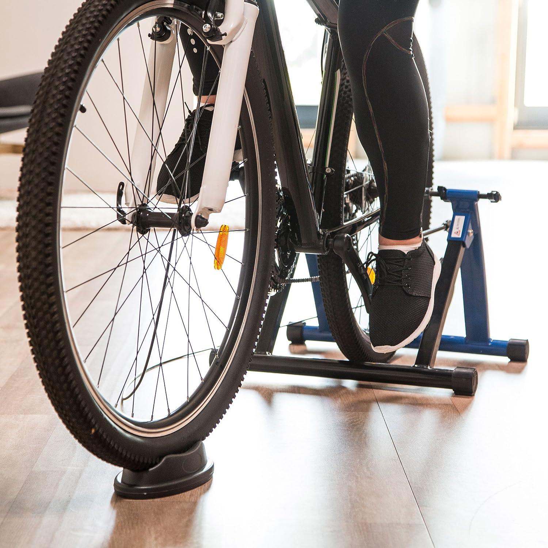Ultrasport Rodillo para Bicicleta con y Sin Cierre Rápido, Carga Máxima 100 kg, Permite Entrenar en Casa, Entrenamiento de Ciclismo Interior, Unisex, 26 o 29 pulgadas Azul: Amazon.es: Deportes y aire libre