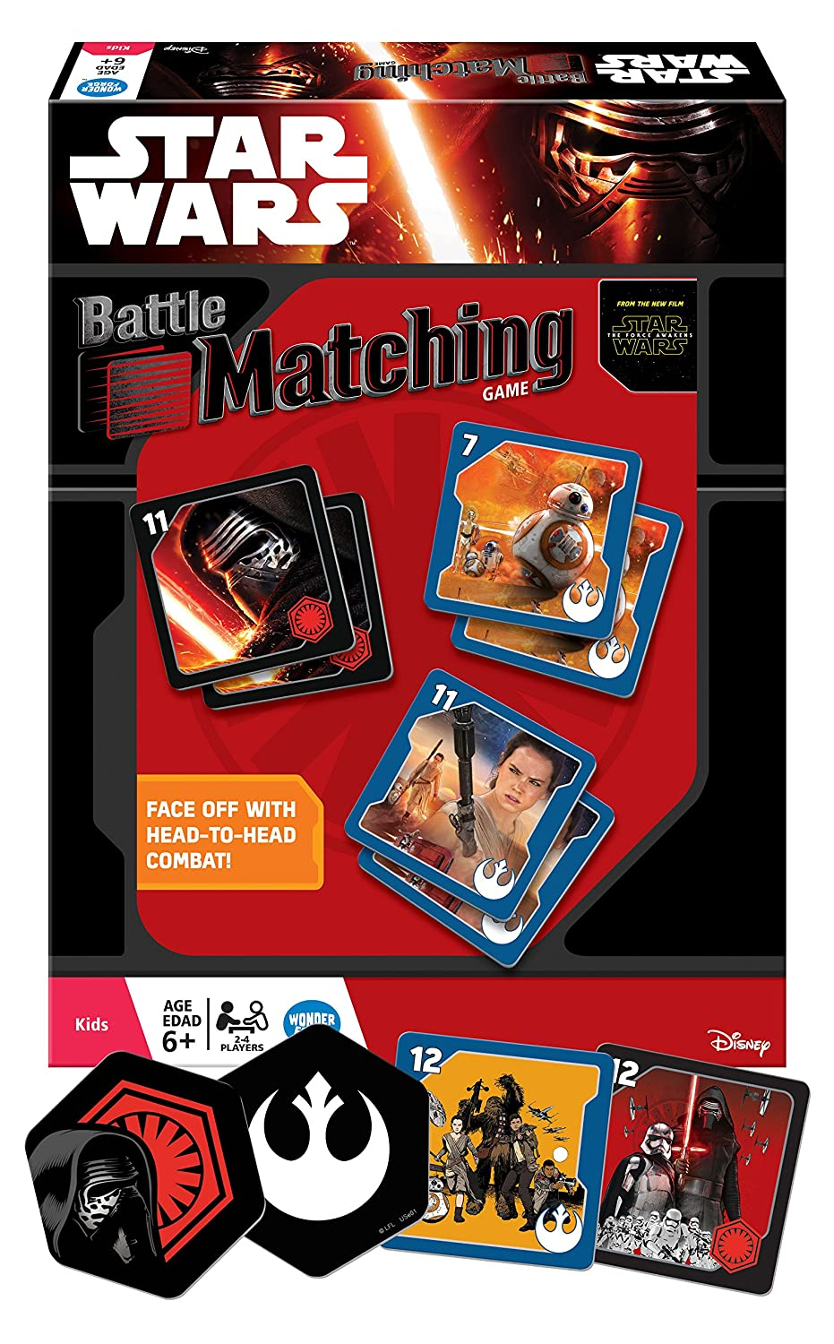 Uncategorized Star Wars Matching Game amazon com star wars the force awakens battle matching game toys games
