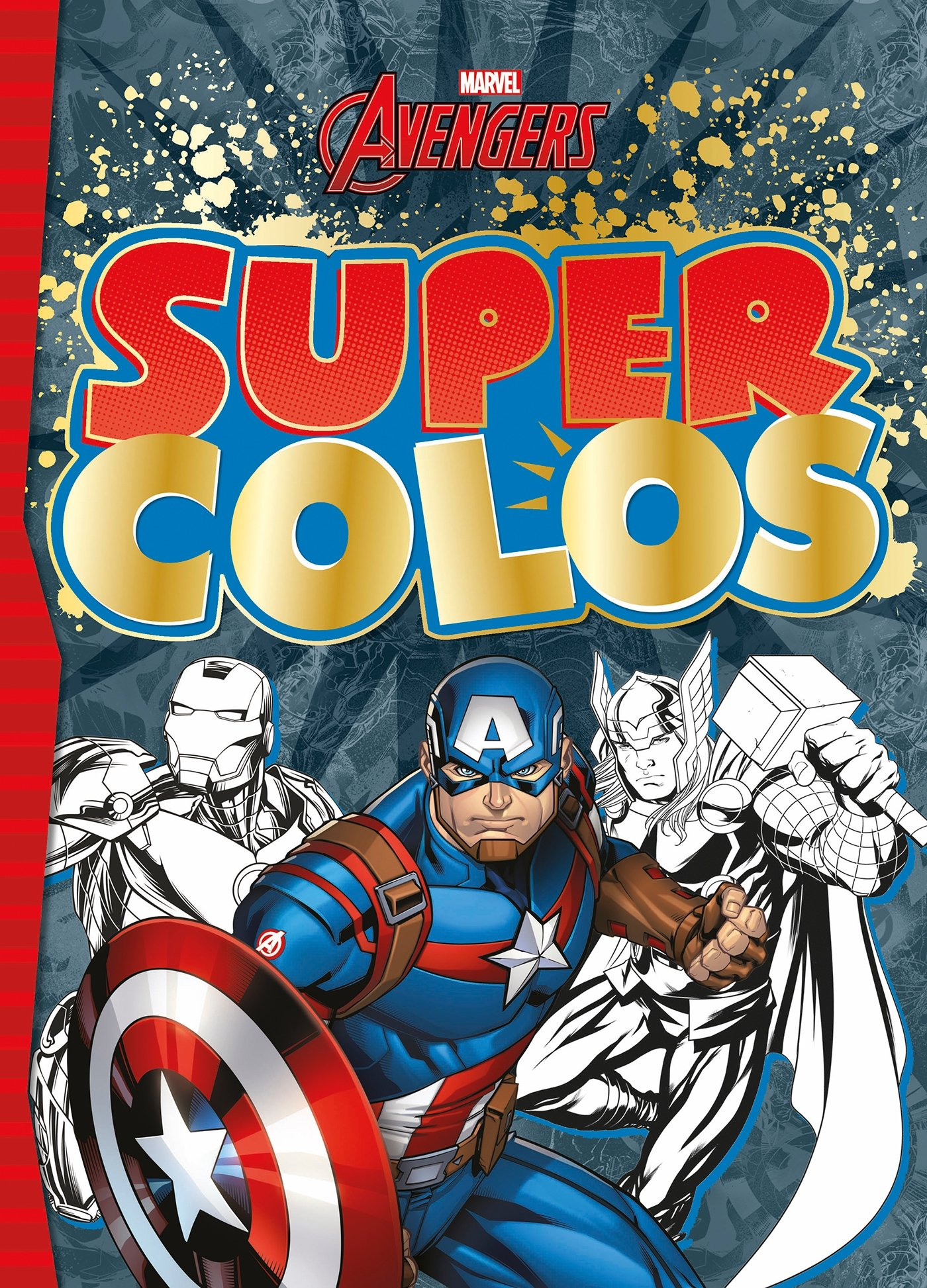 Marvel Super Colo Hjd Coloriages French Edition