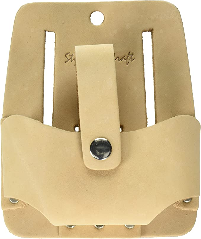 Style n Craft 98014 Extra Large Tape Holder in Dark Tan Heavy Top Grain Leather