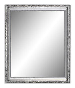 Populair 120 x 80 cm (117 x 77 cm), Antik Spiegel, Alte Spiegel, Stabiler KS09