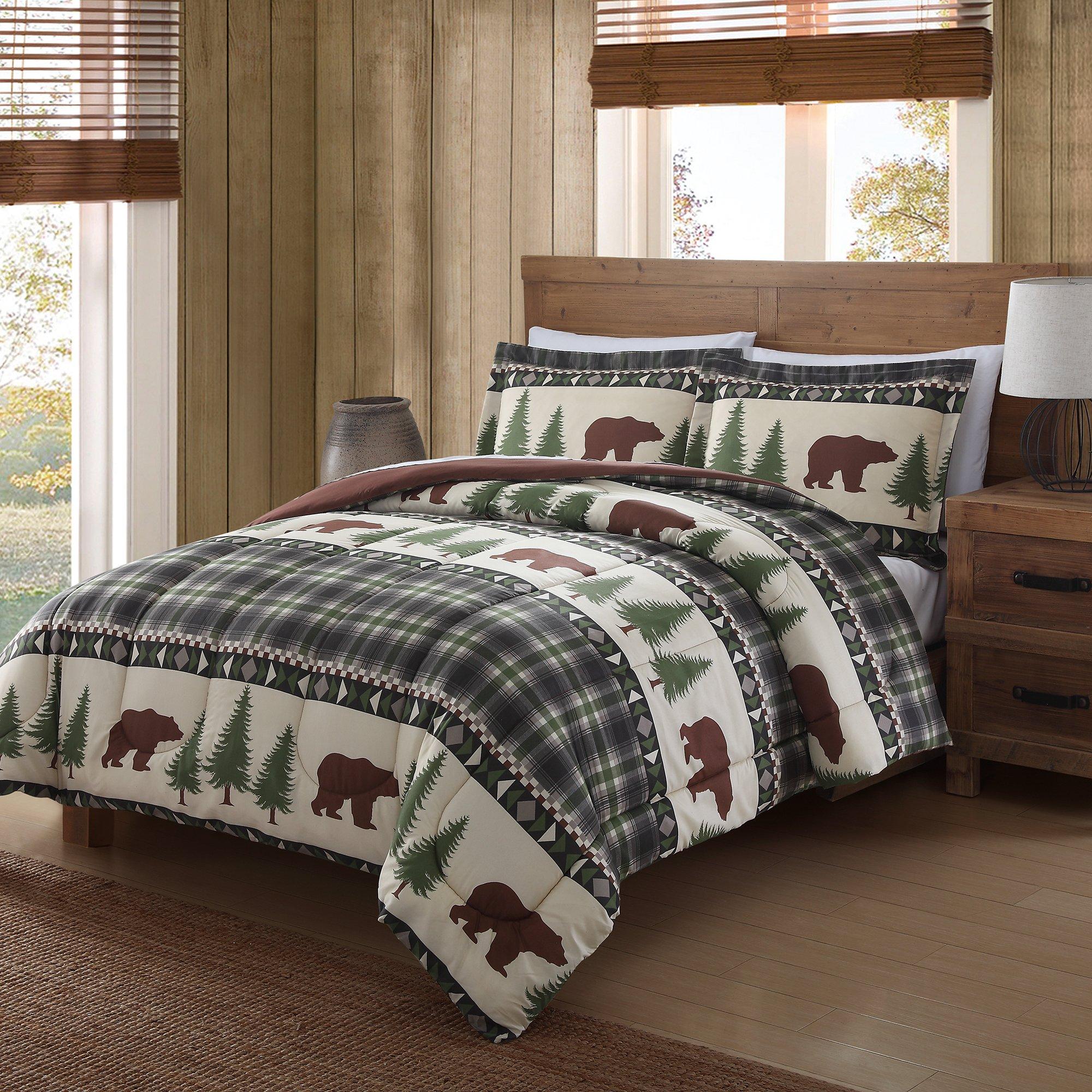 Remington Mini Comforter Set, Full/Queen, Boucher Woods
