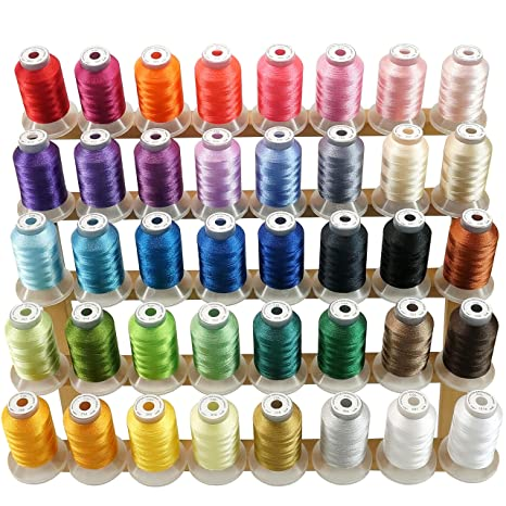 aa5dcdf67f3 New brothread 40 Brother Colours Polyester Machine Embroidery Thread ...