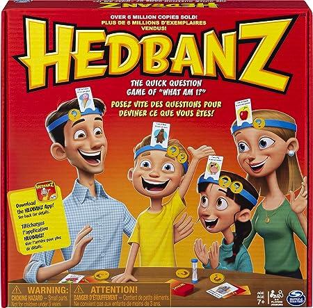Games Spin Master - Hedbanz, Juego de Preguntas, versión en inglés [Importado de Inglaterra]: Games Hedbanz: Amazon.es: Juguetes y juegos