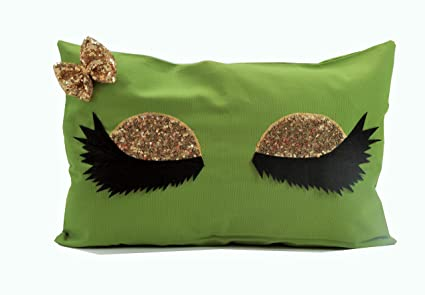 EMOSHION wimpern Almohada Decorativa Almohada Ornamentales ...
