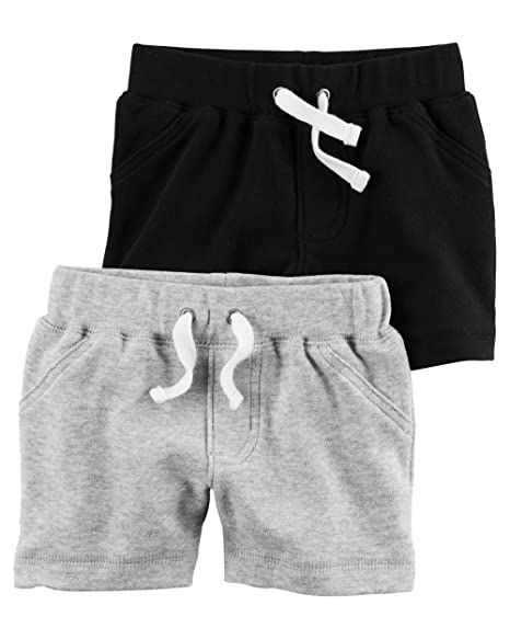 77ada5818 Amazon.com  Carter s Baby Boys  2-Pack Shorts  Clothing