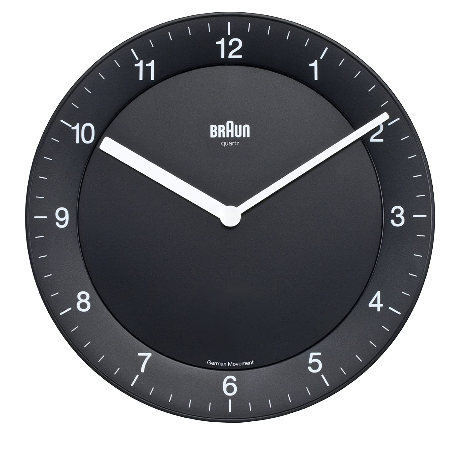 Original wall clock with your hands for half an hour