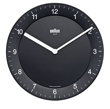 Buy Braun Wall Clock Online at Low Prices in India Amazonin