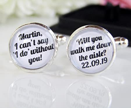 Rockshore Accessories Will You Walk Me Down The Aisle Quote Father