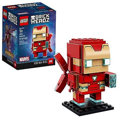 LEGO BrickHeadz Iron Man MK50 41604 Building Kit (101 Piece): Toys & Games