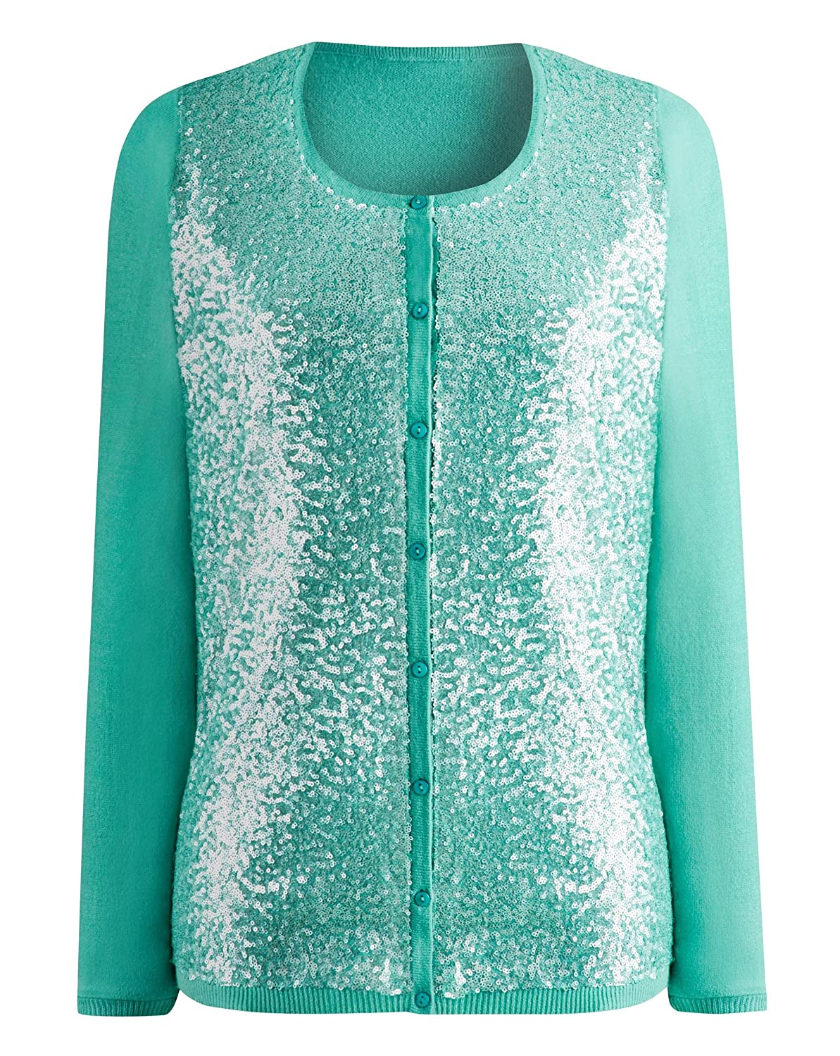 Womens Sequin Cardigan J D Williams