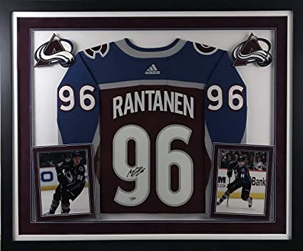 check out 61485 729b4 Mikko Rantanen Signed Colorado Avalanche Jersey - Deluxe ...