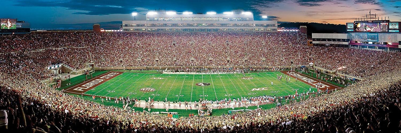 MasterPieces NCAA Florida State Seminoles Football Stadium Panoramic Jigsaw Puzzle 1000 Pieces 13 x 39