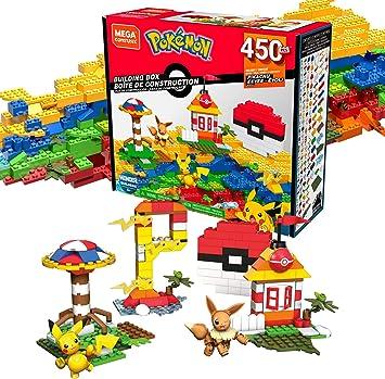 Mega Construx Pokemon Caja de Bloques de Construcción con 450 ...