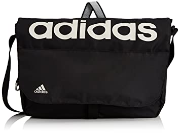 adidas Linear Performance Messenger Bag - Black Pearl Grey Pearl Grey Black