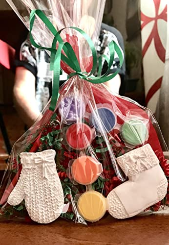 Amazon.com: Christmas party favors for kids/ 10 bags/. Stocking ...