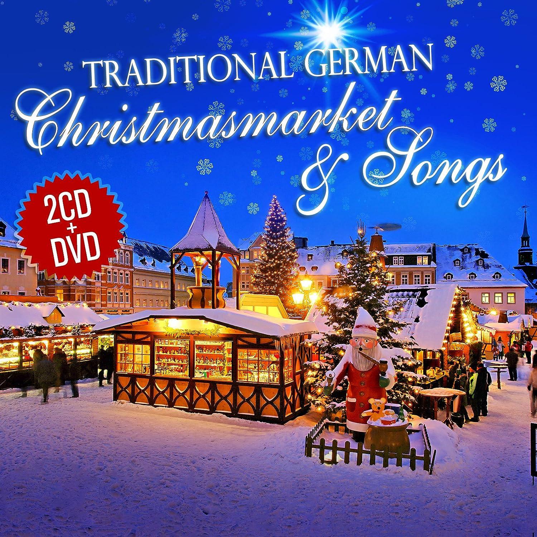 Traditional German Christmas Market & Songs. 2CD + DVD: Amazon.co ...
