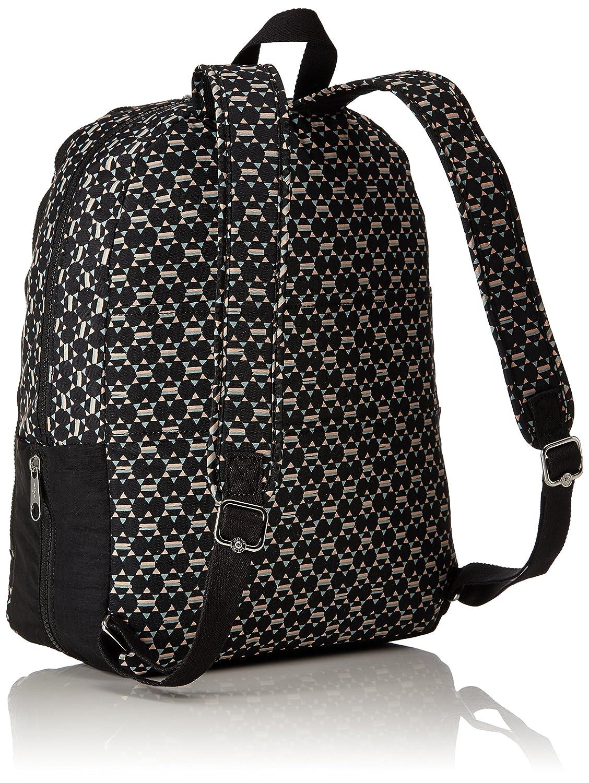 Kipling Deeda N Working Backpack Soft Geo Bl Computers Eastpak Padded Pakamp039r Quilt Sunday Accessories