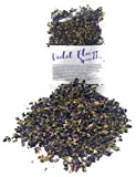 Dried Violets - Organic Violet Flower Sprinkles from Germany (Viola Odorata) - Perfect addition to any salad, snack or…
