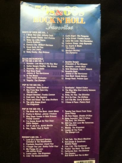50's & 60's Rock N' Roll Favorites - 5 Cd Set - Amazon com Music