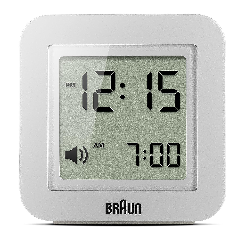 Braun BNC018WH Quartz Alarm Clock