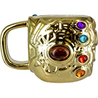 Marvel Avengers Infinity War Taza Desayuno Gauntlet Infinity War Los Vengadores, cerámica, 15 x 11 x 10 cm