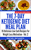 The 7-Day Ketogenic Diet Meal Plan - Volume 2