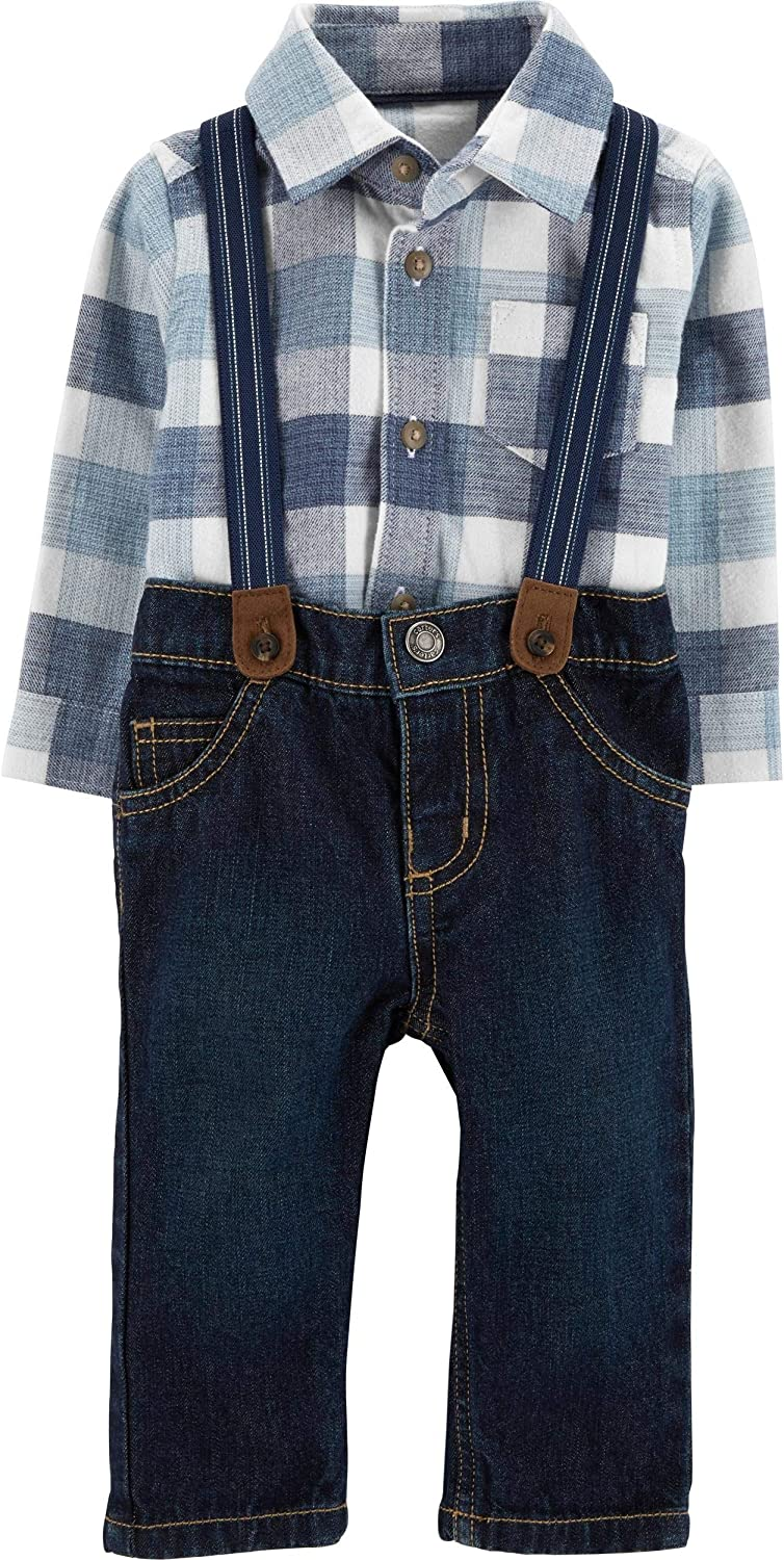 Carters Baby Boys 3 Piece Dress Me Up Set